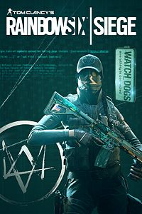 Carátula para el juego Tom Clancy's Rainbow Six Siege: Ash Watch_Dogs Set de Xbox 360