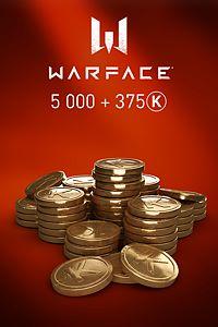 Carátula del juego Warface - 5000 Kredits