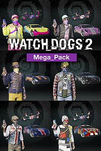 Carátula del juego Watch Dogs2 - MEGA PACK