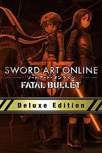 Carátula para el juego SWORD ART ONLINE: FATAL BULLET Deluxe Edition Preorder Bundle de Xbox One