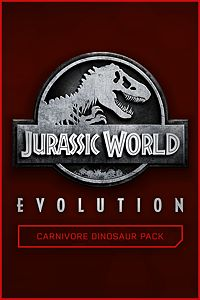 Carátula del juego Jurassic World Evolution: Carnivore Dinosaur Pack