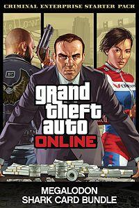 Carátula para el juego Criminal Enterprise Starter Pack and Megalodon Shark Card Bundle de Xbox One