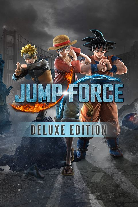JUMP FORCE - Deluxe Edition Pre-Order Bundle box shot