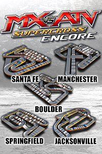 Carátula para el juego Supercross Track Pack 4 de Xbox 360