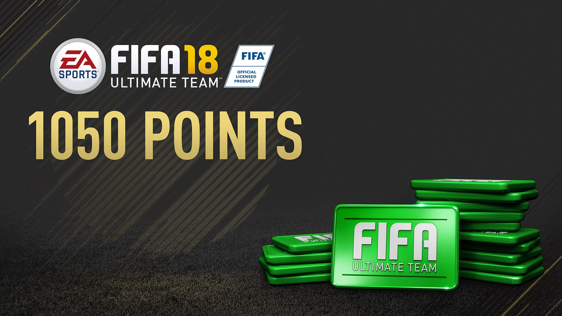 Pack 1050 Points FIFA 18
