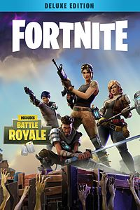 Carátula del juego Fortnite - Deluxe Founder's Pack de Xbox One