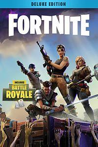 Carátula para el juego Fortnite - Deluxe Founder's Pack de Xbox One