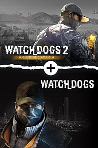 Carátula del juego Watch Dogs 1 + Watch Dogs 2 Gold Editions Bundle