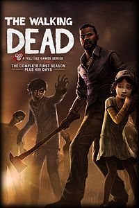 Carátula del juego The Walking Dead: The Complete First Season para Xbox One