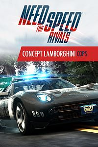 Carátula del juego Need for Speed Rivals Concept Lamborghini Cops