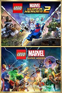 Carátula para el juego LEGO Marvel Super Heroes Deluxe Bundle de Xbox One