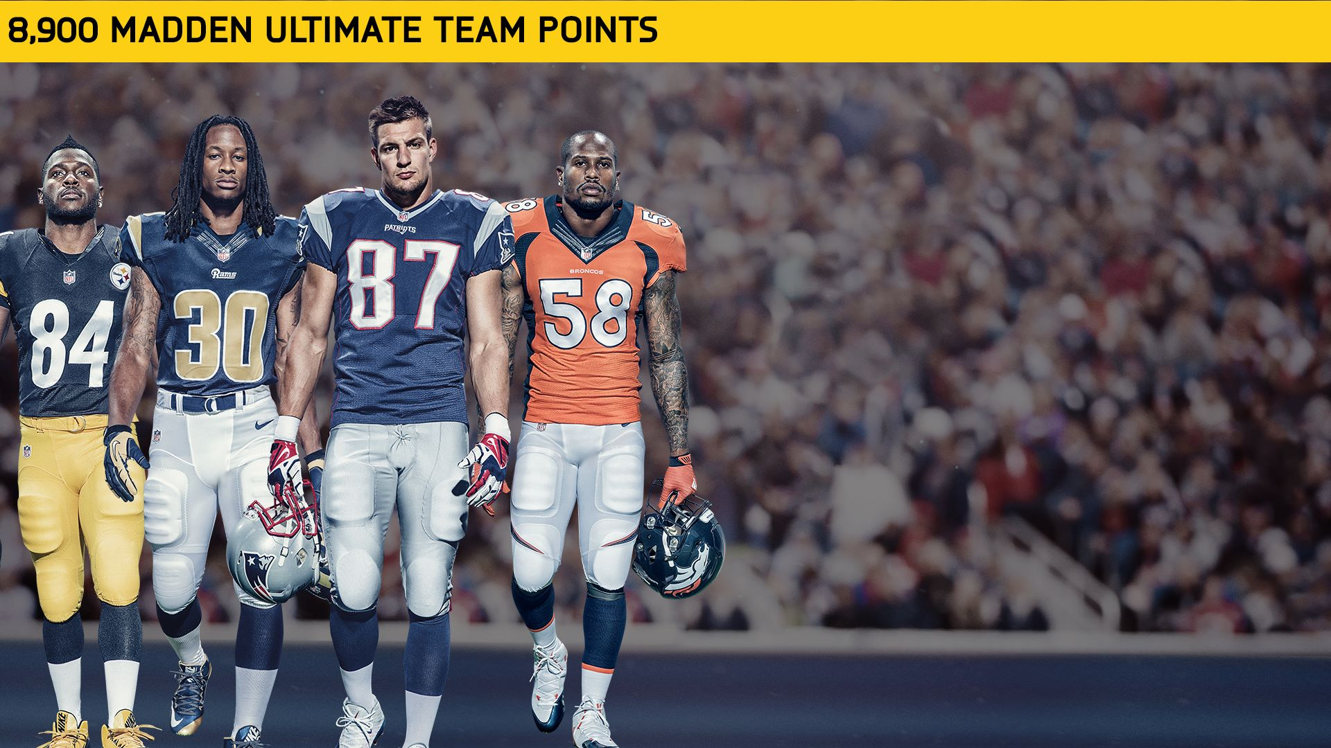 8900 Madden NFL 17 Points