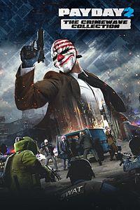 Carátula para el juego PAYDAY 2: THE CRIMEWAVE COLLECTION de Xbox 360