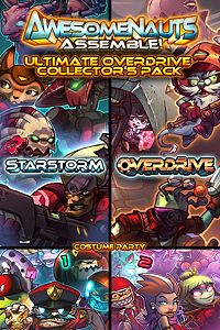 Carátula del juego Ultimate Overdrive Collector's Pack - Awesomenauts Assemble! Game Pack de Xbox One