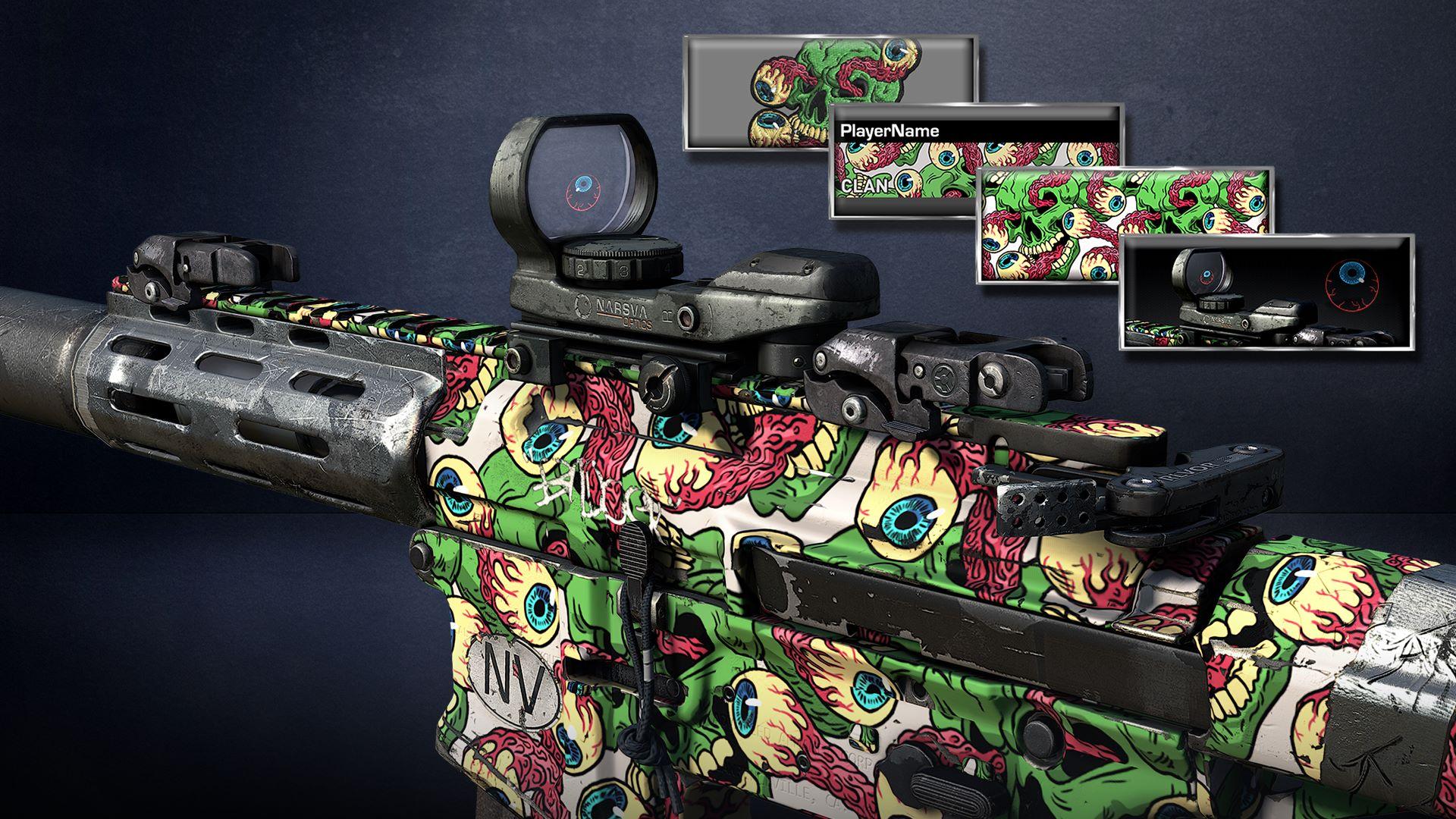 Call of Duty®: Ghosts - Eyeballs Pack
