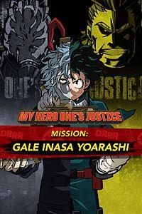 Carátula del juego MY HERO ONE'S JUSTICE Mission: Gale Inasa Yoarashi