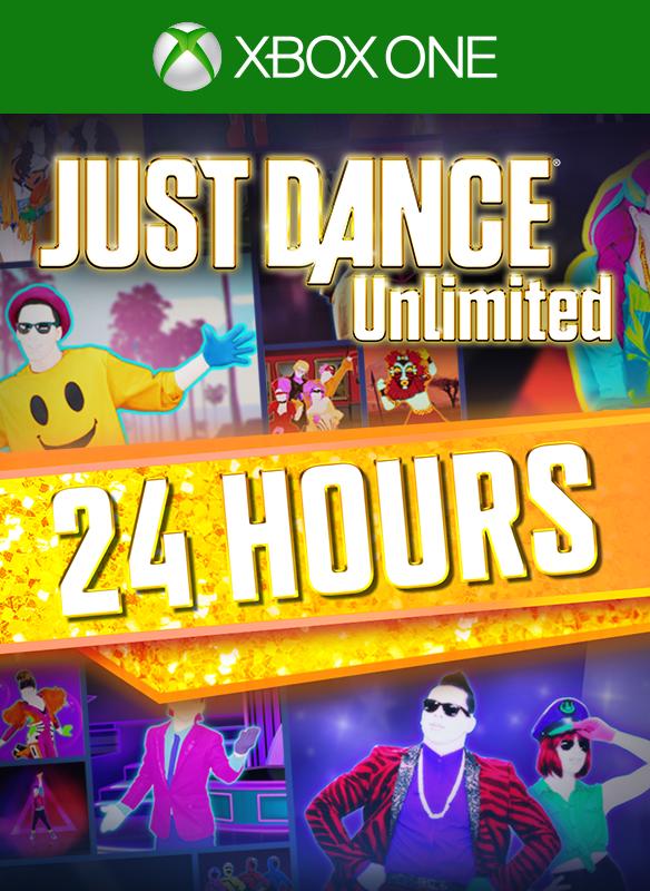 Just Dance Unlimited Pass – 24 hours pass boxshot