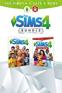 Carátula del juego The Sims 4 Plus Cats & Dogs Bundle