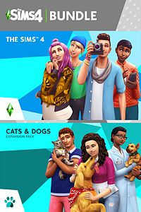 The Sims™ 4 本編と Cats & Dogs Bundle