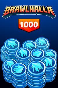 Carátula del juego BRAWLHALLA - 1000 MAMMOTH COINS