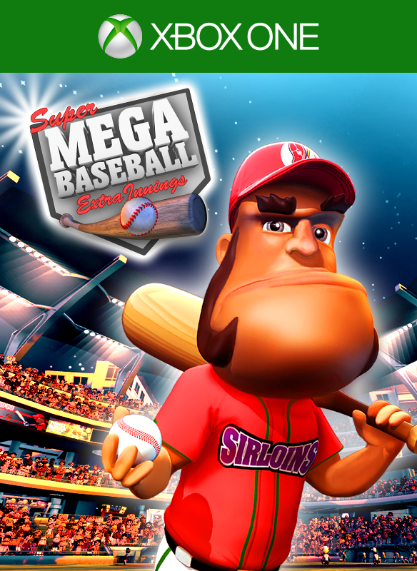 Super Mega Baseball: Extra Innings boxshot