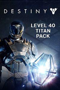 Carátula del juego Destiny - Level 40 Titan Pack de Xbox One