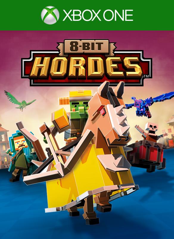 8-Bit Hordes boxshot