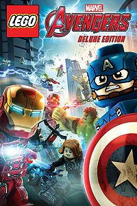 Carátula del juego LEGO Marvel's Avengers Deluxe Edition