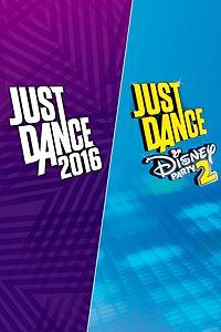 Carátula del juego Just Dance 2016 & Just Dance Disney Party 2 de Xbox One