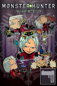 Carátula del juego Sticker Set: Devil May Cry Set