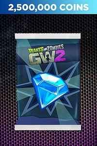 Carátula para el juego Plants vs. Zombies Garden Warfare 2: 2,500,000 Humongous Coins Pack de Xbox 360