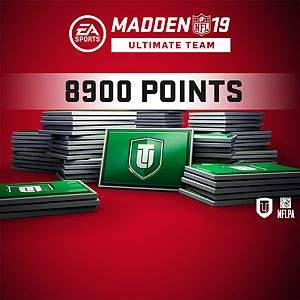 Madden NFL 19 Ultimate Team 8900 Points Pack Xbox One