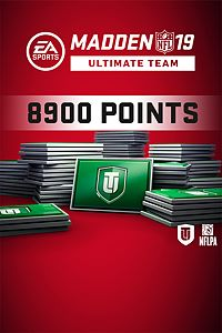 Carátula del juego Madden NFL 19 Ultimate Team 8900 Points Pack