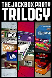 Carátula del juego The Jackbox Party Trilogy