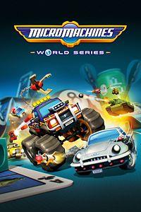 Carátula para el juego Micro Machines World Series de Xbox 360
