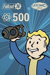 Carátula del juego Fallout 76: 500 Atoms