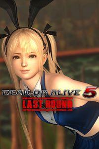 Carátula del juego DEAD OR ALIVE 5 Last Round Sexy Bunny Marie Rose