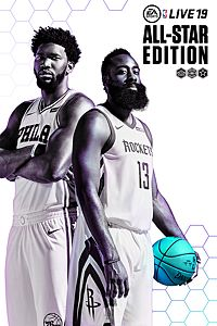 Carátula del juego NBA LIVE 19 All-Star Edition