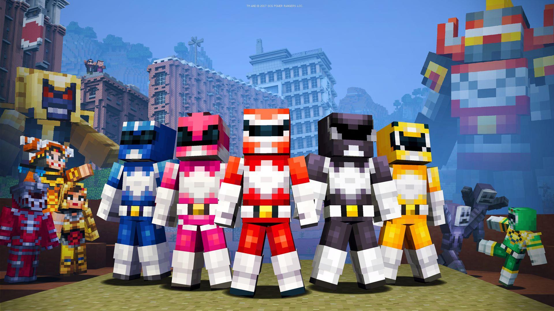 Buy Minecraft Power Rangers Skin Pack Microsoft Store - Skin para minecraft pc 1 11 2