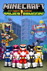 Carátula del juego Minecraft Power Rangers Skin Pack de Xbox One