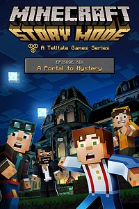 Carátula del juego Minecraft: Story Mode - Episode 6: A Portal To Mystery de Xbox One