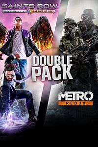 Carátula del juego Saints Row Metro Double Pack