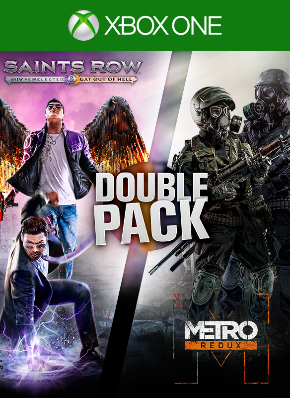 Saints Row/Metro Double Pack