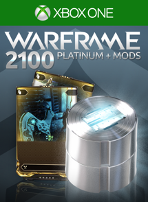 Warframe®: 2100 Platinas + Mods Raros Duplos
