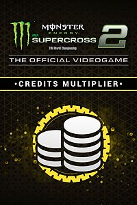 Carátula del juego Monster Energy Supercross 2 - Credits Multiplier