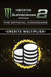 Carátula del juego Monster Energy Supercross 2 - Credits Multiplier