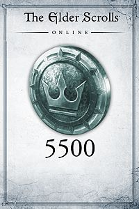 Carátula del juego The Elder Scrolls Online: 5500 Crowns