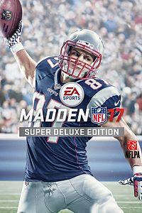 Carátula del juego Madden NFL 17 Super Deluxe Edition