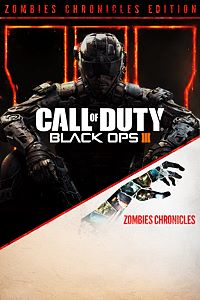 Carátula del juego Call of Duty: Black Ops III - Zombies Chronicles Edition de Xbox One