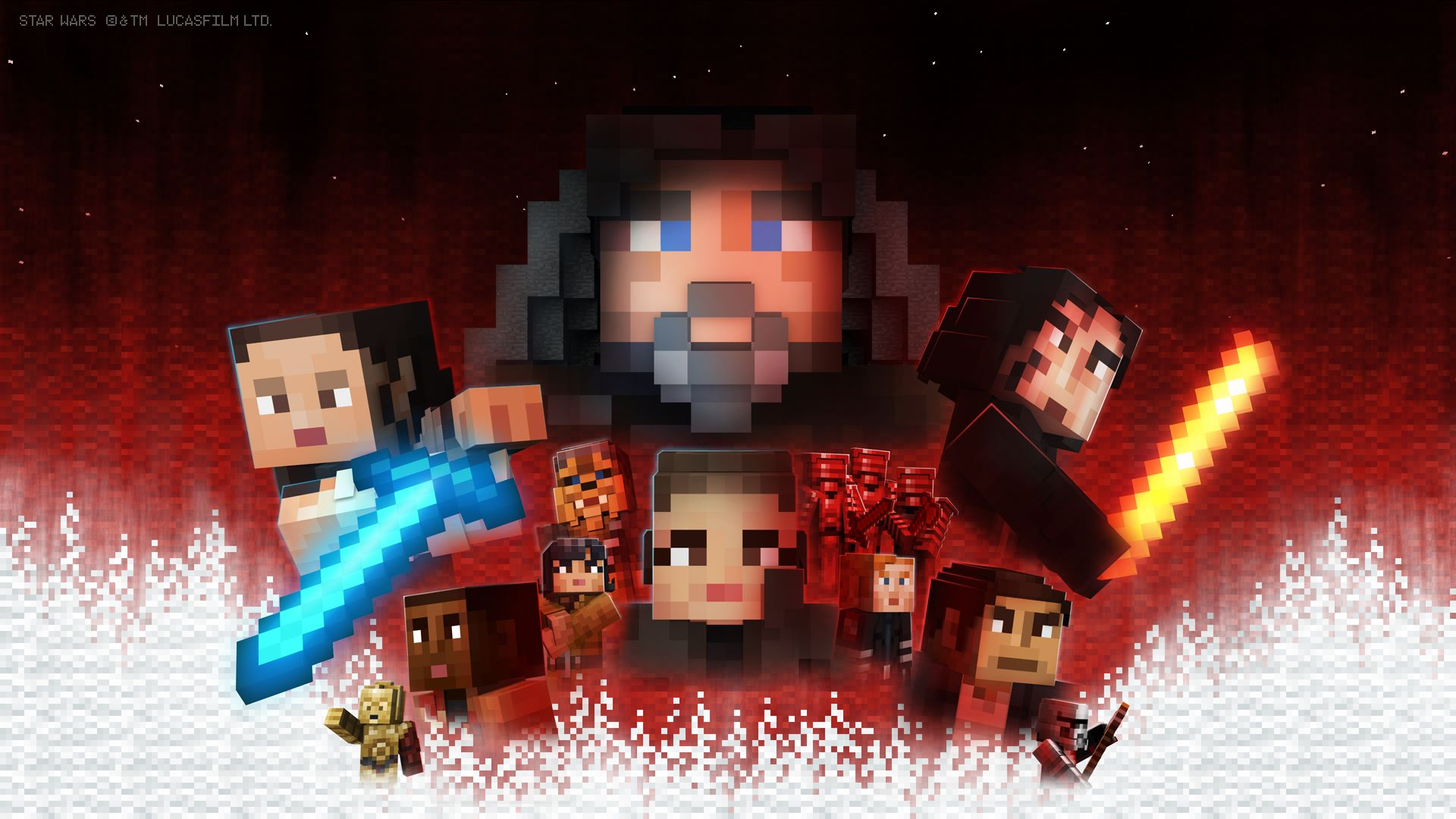 Buy Minecraft Star Wars Sequel Skin Pack Microsoft Store - Skin para minecraft pe rey